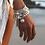 Thumbnail: ChloBo Mini Disk Tassel Bracelet