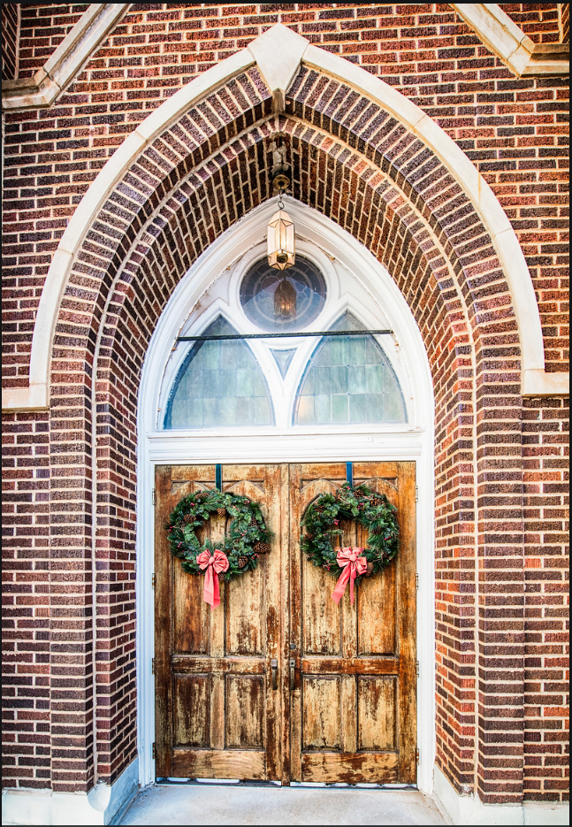 WREATH DOOR