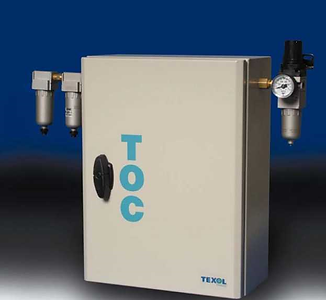 TOC gas generator, TOC gas