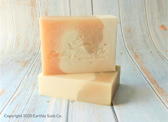 Almond Milk and sea salt soap