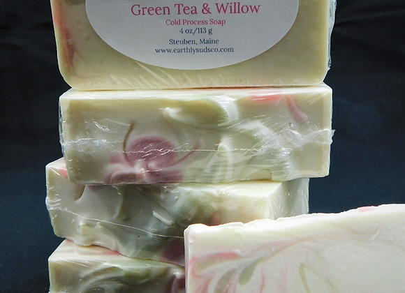 Green Tea & Willow Soap