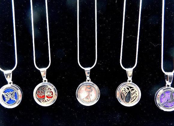 Locket Style Aromatherapy Necklaces