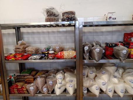 Banco de Alimentos recebeu mais de 48 toneladas de itens no primeiro trimestre