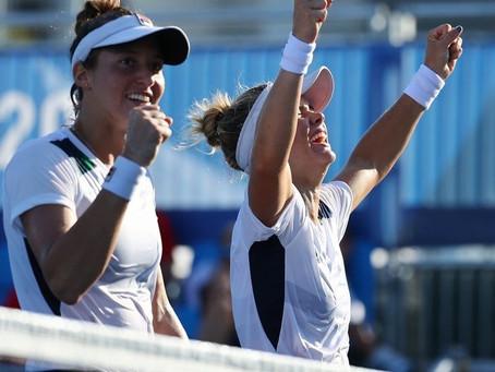 RESUMÃO DAS OLIMPÍADAS: Laura Pigossi e Luisa Stefani conquistaram bronze inédito no tênis