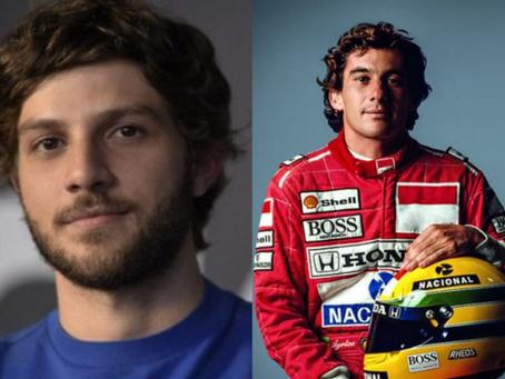 Chay Suede pode viver Ayrton Senna em nova série da Netflix
