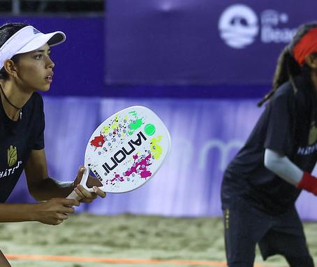 Brasil confirma favoritismo na estreia da Copa do Mundo de Beach Tennis no Rio de Janeiro