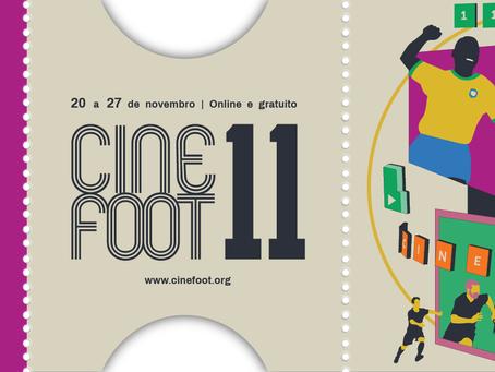 Vem ai a 11° edição do CINEFOOT mas de maneira, este ano no formato 100% online