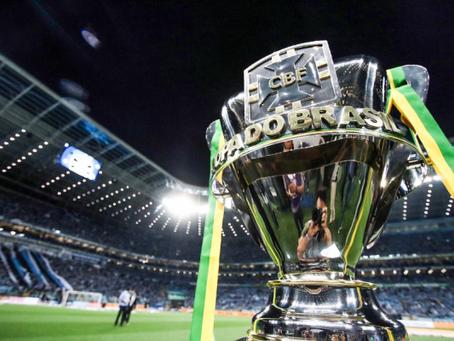 Jogos das oitavas de final da Copa do Brasil serão definidos amanhã