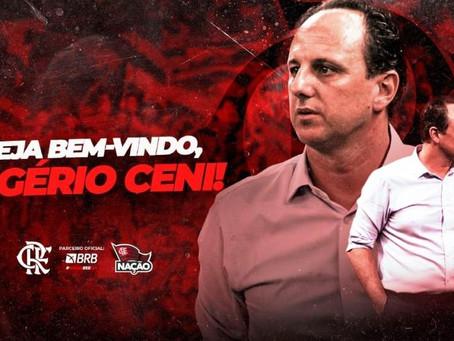 AGORA É OFICIAL!  Rogério Ceni é o novo técnico do Flamengo