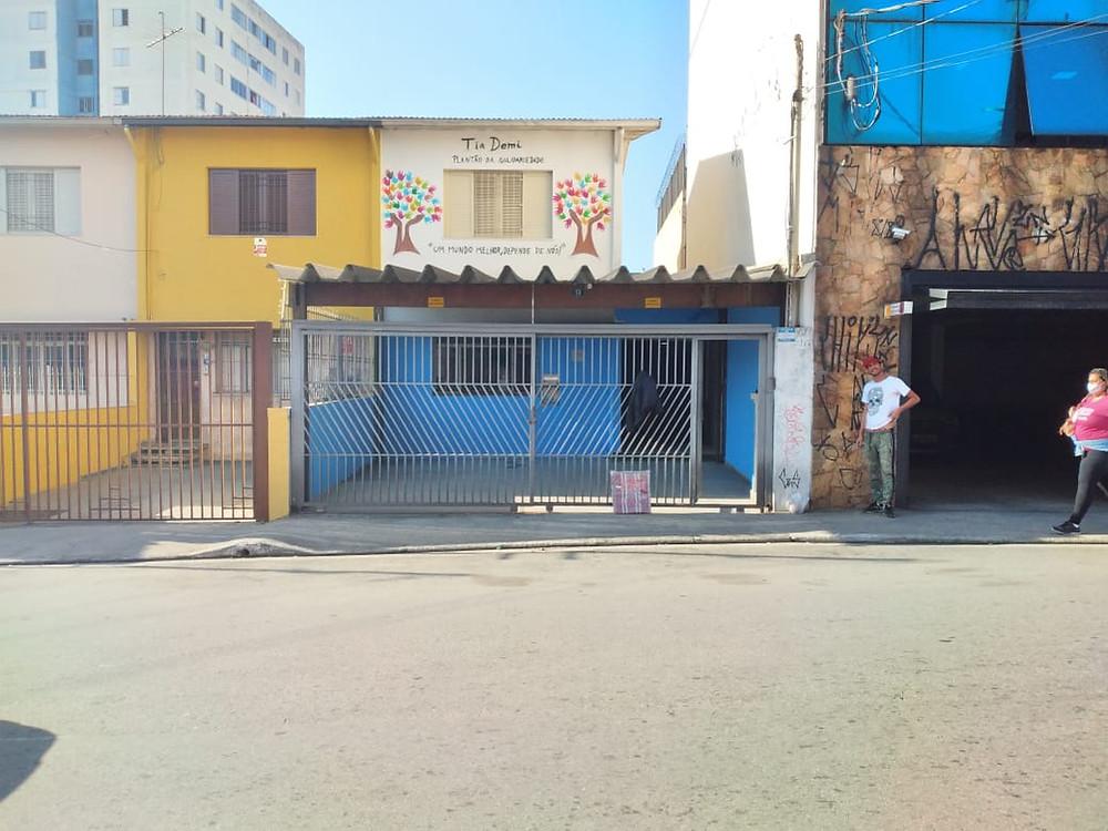 Novo espaço da ONG Tia Demi – Plantão de Solidariedadee Solidariedade