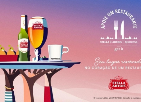 """Stella Artois retoma movimento """"Apoie Um Restaurante"""""""