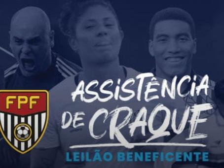 """Federação Paulista de Futebol ajuda comunidades carentes em """"Assistência de Craque"""""""