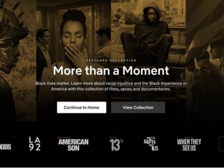 Netflix adiciona Black Lives Matter como um novo gênero de conteúdo