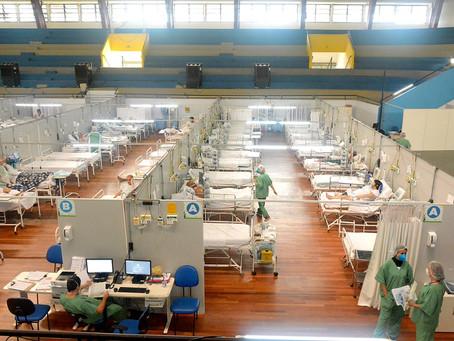 Em um ano de funcionamento 1° hospital de campanha de Santo André recuperou 7.406 pacientes