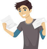 illustration-of-a-male-teen-happily-read