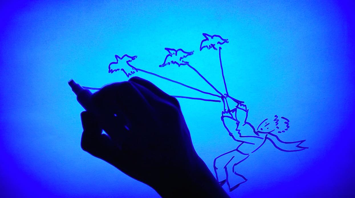 Dibujo a mano y arte digital.