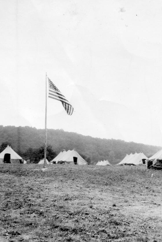 CAMP HOOK, 1933-1935