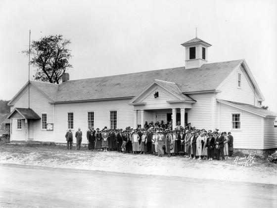 NEW FAIRFIELD TOWN HALL, 1920