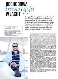 Dochodowa inwestycja w jacht Walerij Pryżkow WP Capital Gdansk Poland Polska IPS Conrad Sunreef Trójmiasto yacht Monaco Miami