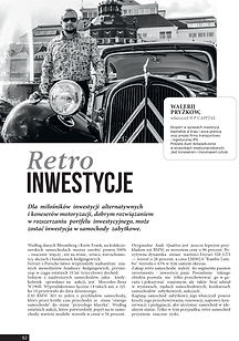Walerij Pryżkow WP Capital Gdańsk Retro Inwestycje samochody Polska