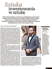 Sztuka inwestowania w sztukę Walerij Pryżkow WP Capital Poland Gdansk Polska art investment IPS artinvestment kunst fact Trójmiasto