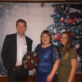 Malcolm, Lyudmyla and Ida (KiS leader)