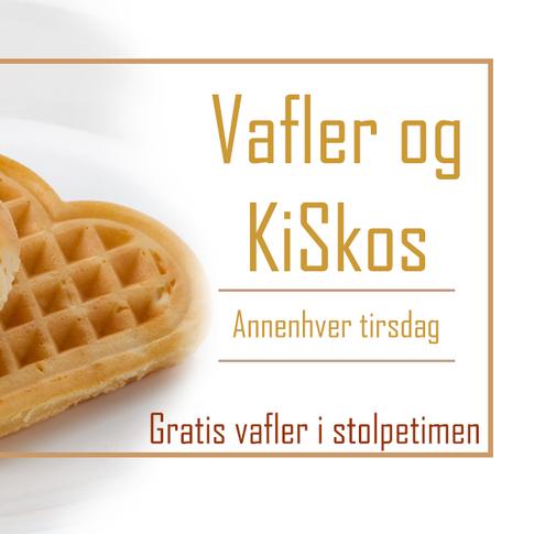 Vafler og KiSkos (annenhver tirsdag)