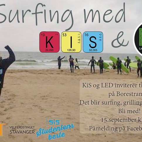 Surfing med KiS og LED