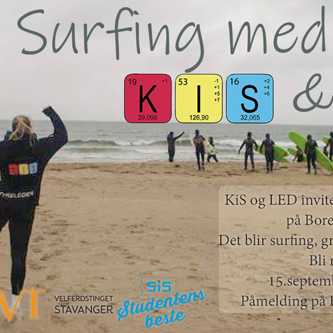Surfing with KiS & LED