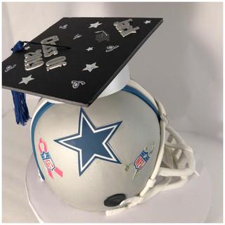 Cowboys Helmet Cake.jpg