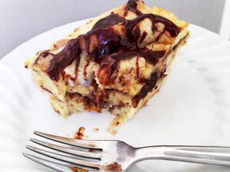 Nutella French Toast Bake