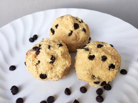 Chocolate Chip Cookie Protein Balls