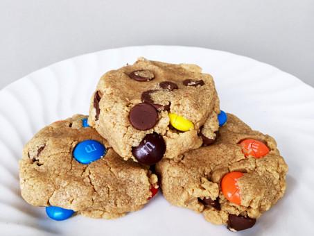Soft Batch Peanut Butter M & M Cookies