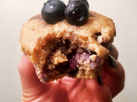 Super Food Blueberry Muffins