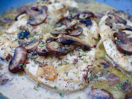 Creamy Mushroom Chicken Skillet