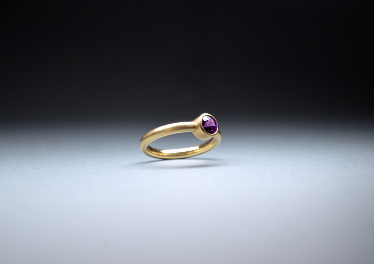 Ring Rhodolith