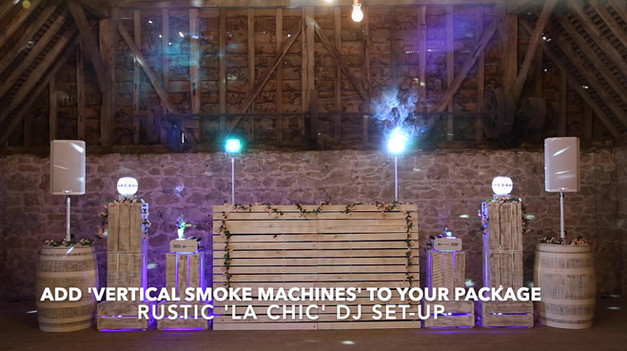 'La Chic' Rustic Set-up
