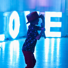 Light up Love letters for Weddings and Parties