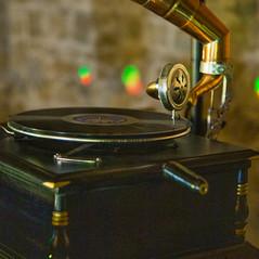 Rustic Shabby Chic Festival DJ Set-up