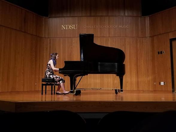 Junior Recital, January 2018