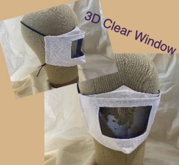 3D Clear Window