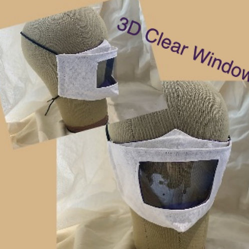 3D Clear Window Mask