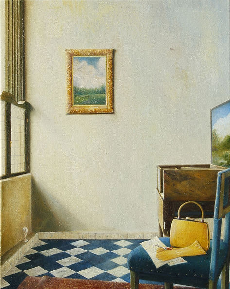 The Yellow Bag, Homage to a Dutch artist