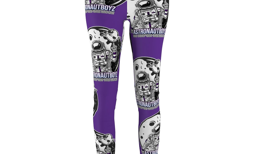ABI Women's Cut & Sew Casual Leggings(purple)