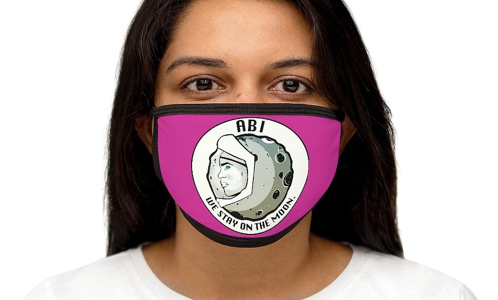 Mixed-Fabric ABI Face Mask(pink)