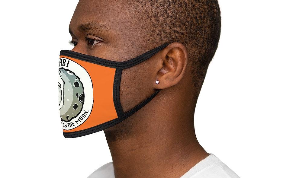 Mixed-Fabric ABI Face Mask(orange)