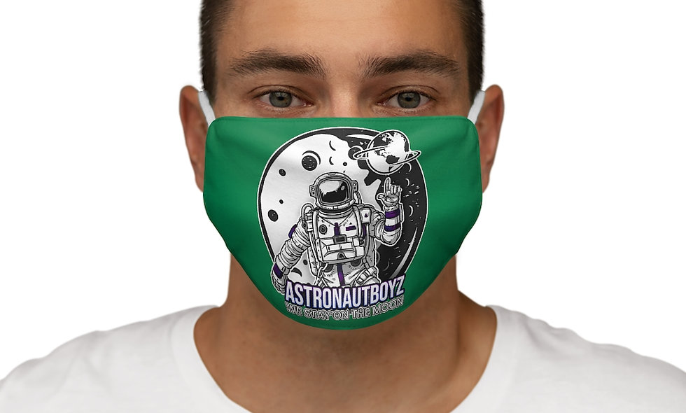 Snug-Fit ABI LOGO 2 Face Mask (green)