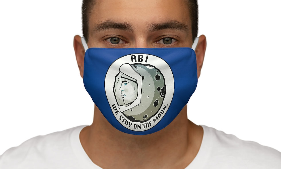 Snug-Fit  ABI LOGO Face Mask (blue)