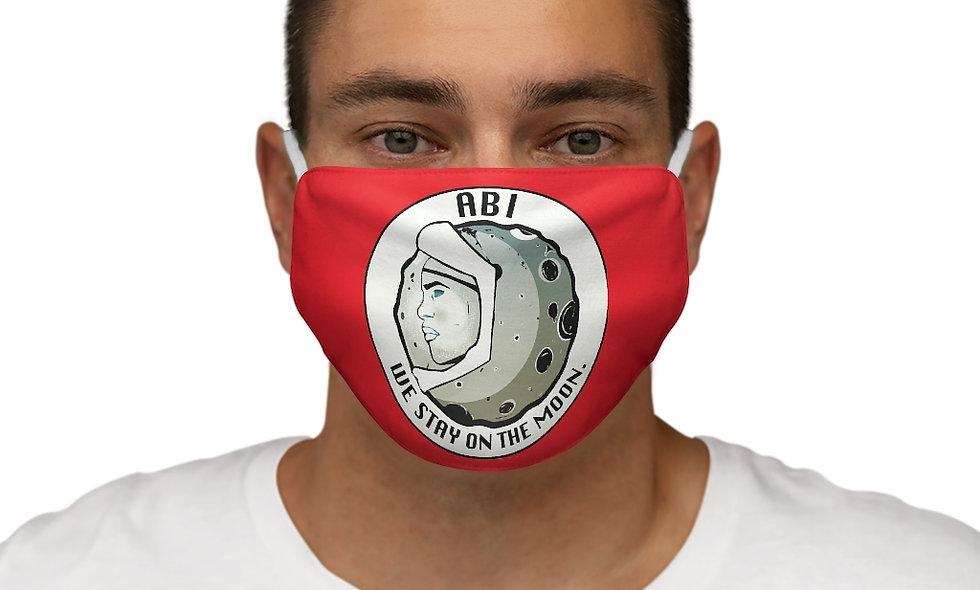Snug-Fit  ABI LOGO Face Mask (red)