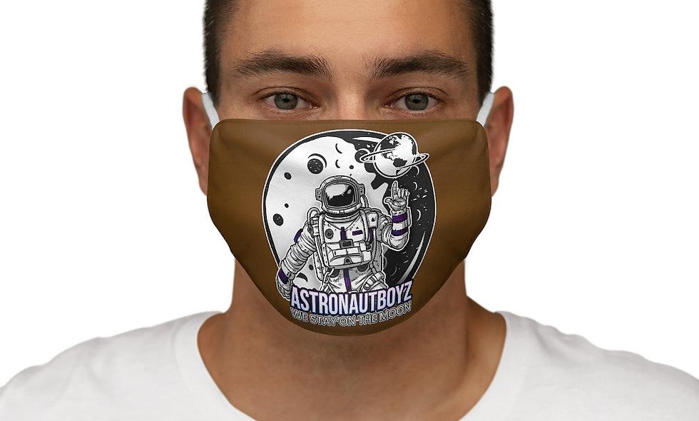 Snug-Fit  ABI LOGO 2 Face Mask (brown)